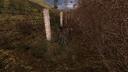 Пень у ограды Тёмная долина ЧН