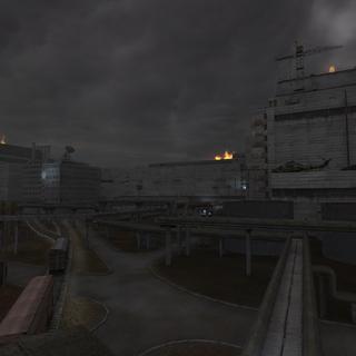 Tereny wokół elektrowni