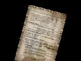 List dotyczący dostaw obiektu 62