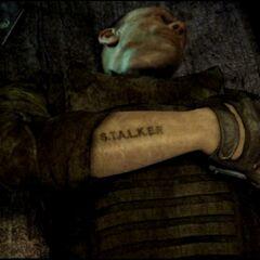 Tatuaż S.T.A.L.K.E.R.
