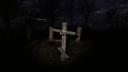 Деревянный крест Болота ЧН
