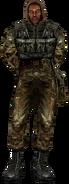 Армейский бронежилет(вид)