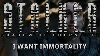 Fin de Shadow of Chernobyl - Je veux l'immortalité