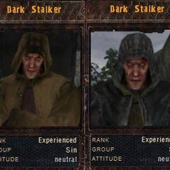 Oryginalne tabele identyfikacyjne Mrocznych Stalkerów