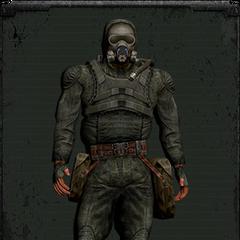 Kombinezon Świt z maską gazową typu drugiego