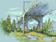 Міст через річку Прип'ять(концепт-арт-2)