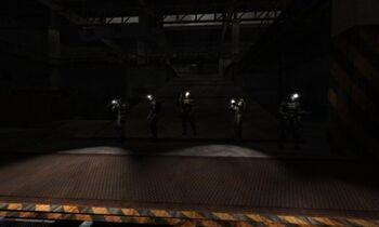 NPC z latarkami