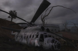 Mil Mi-6 Crash site
