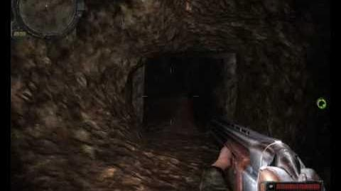 Stalker Call of Pripyat - Dangerous cave