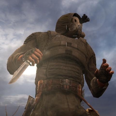 Nóż w rękach Stalkera