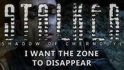 Fin de Shadow of Chernobyl - Je veux que la Zone disparaisse