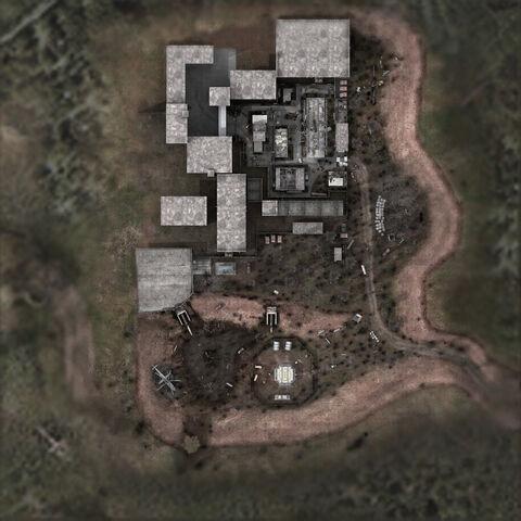 Mapa Jantaru w Cień Czarnobyla
