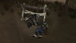 Бандит лечит друга