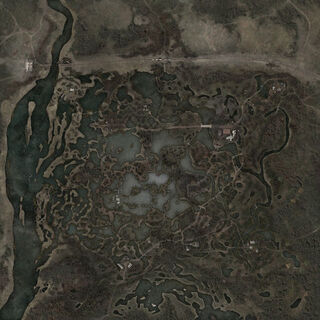 Mapa Wielkich Bagien