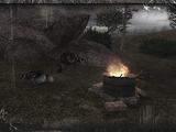 Obóz Bandytów w Dolinie Mroku