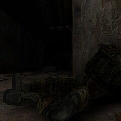 Martwy żołnierz Specnazu