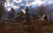 Церковь на болотах