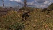 Стрелок у моста в Лиманск