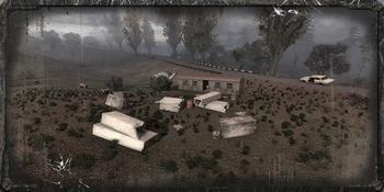 Obóz przy przyczepie