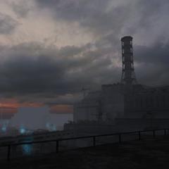 Cały teren elektrowni