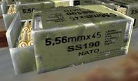 Build 1844 5.56x45mm SS190 ammobox