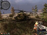 MI-35 in S.T.A.L.K.E.R call of pripyat