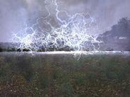 Электра во время разрядки
