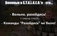 Вояки в Сталкере or