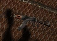 AKS-74U world model