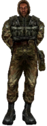 Soldier Suit Worn Icon