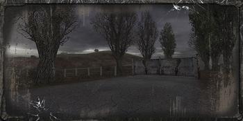 Brama prowadząca do Kordonu, to najkrótsza droga do tej lokacji z Doliny Mroku.
