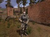 Встретиться с наёмниками в деревне