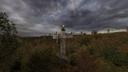 Баллоны на могиле НИИ «Агропром» ЧН