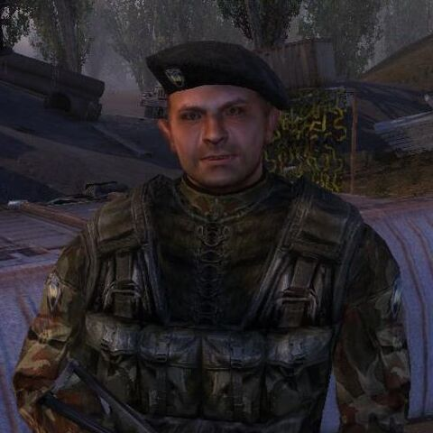 Kuzniecow w mundurze