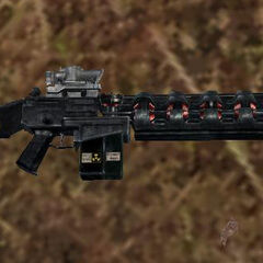 Model broni