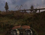 Binoculars in STALKER Call of Pripyat