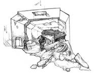 SCS Pripyat Underground Concept Art 4