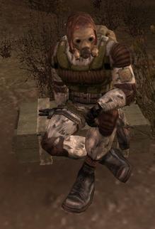 Ex-monolith soldier