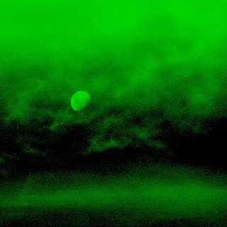 Przykład obrazu z noktowizora
