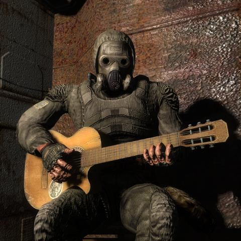 Stalker z gitarą