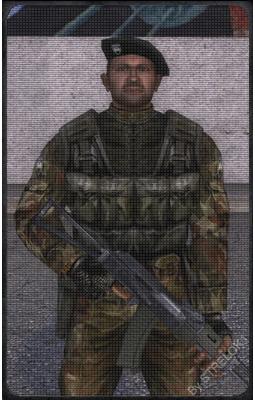 Командир військового контингенту на НДІ «Агропром»