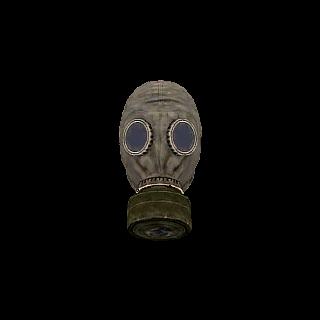 Zwykła maska, wycięta.