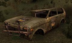 Scraped Lada
