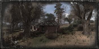 Ruiny Wioski w Kordonie