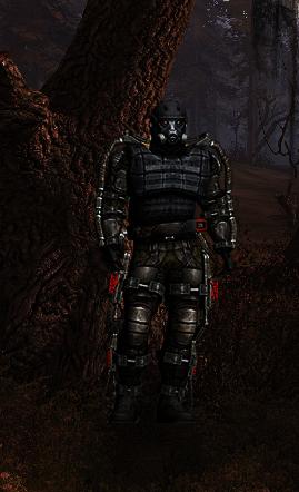 Przywódca grupy stalkerów w Czerwonym Lesie