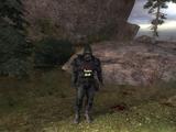 Прикрыть отряд «Долга» от атаки бандитов в Тёмной долине