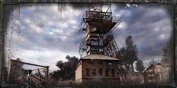 Kompleks wydobywczy w Czerwonym Lesie