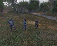 Наёмники на прогулке