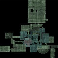 Mapa Laboratorium X-18