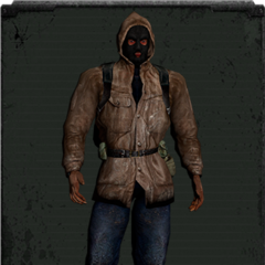 Skórzana kurtka z kominiarką